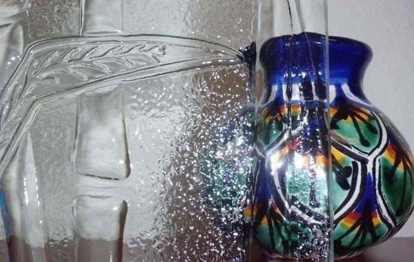 Bamboo Design Glass